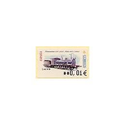 ESPAÑA. 54E. Locomotora 030, 2103-Norte. EUR-5A. ATM nuevo (0,01