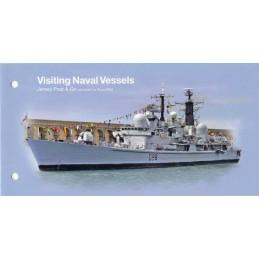 JERSEY (2018). Visiting Naval Vessels (Buques de guerra) - B2JE18 B002. Carpeta (serie)