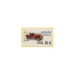 ESPAÑA. 59E. Hispano Suiza T. EUR-5A. ATM nuevo (0,01)