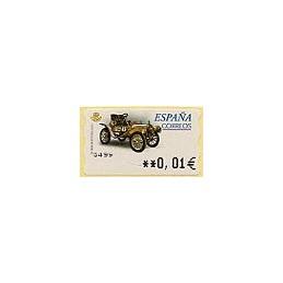 ESPAÑA. 62E. De Dion Bouton B.S. EUR-5A. ATM nuevo (0,01)