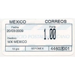 MEXICO (2009). SIO issue...