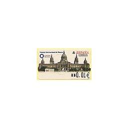ESPAÑA. 53E. ICOM 2001. Barcelona. EUR-5E. ATM nuevo (0,01)