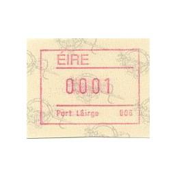 IRLANDA (1992). Emisión Frama (2) - Distr. 006. ATM nuevo