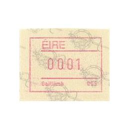 IRLANDA (1992). Emisión Frama (2) - Distr. 005. ATM nuevo