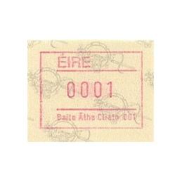 IRLANDA (1992). Emisión Frama (2) - Distr. 001. ATM nuevo