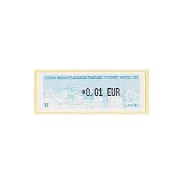 FRANCIA (2002). 75 Congres FFAP Marseille. ATM nuevo