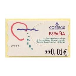 SPAIN (2001). 40. 1er....