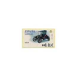 ESPAÑA. 58E. Ford T. EUR-5E. ATM nuevo (0,01)