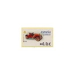 ESPAÑA. 59E. Hispano Suiza T. EUR-5E. ATM nuevo (0,01)