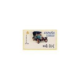 ESPAÑA. 60E. Peugeot Bébé. EUR-5E. ATM nuevo (0,01)