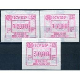 BELGIUM (1997). KVBP...