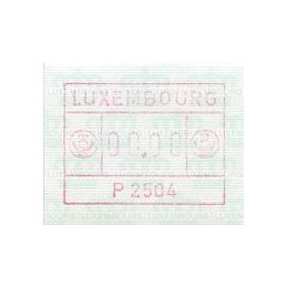 LUXEMBOURG (1983). Frama...