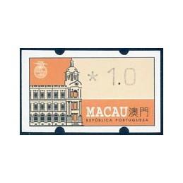 MACAU (1993). Main Post...