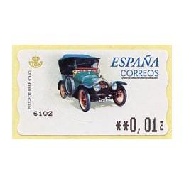 ESPAÑA (2001). 60E. Peugeot...