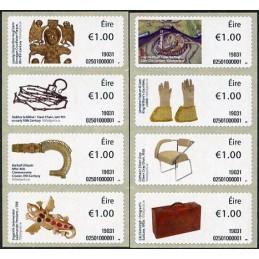 IRLANDA (2019). Una Historia de Irlanda en 100 Objetos (3a. serie) -  02501. Sellos nuevos