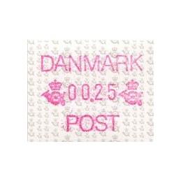 DINAMARCA (1990). Emblema...