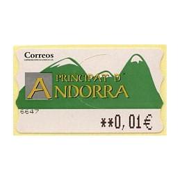 ANDORRA (2001). Montañas...