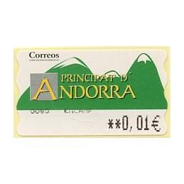 ANDORRA (2006). Green...