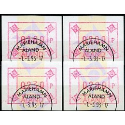 ALAND (1993). Post emblem...