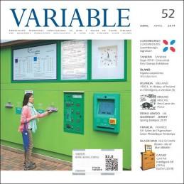 VARIABLE 52 - Abril 2019 (Leer nota acerca del envío gratis)