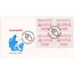 DENMARK (1990). Post...