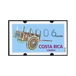 COSTA RICA (1993). Carreta. ATM nuevo