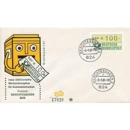 GERMANY (1981). Post emblem...