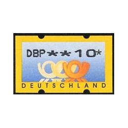 GERMANY (1999). Post emblem...