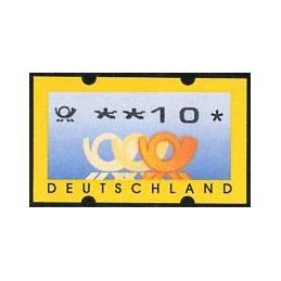 GERMANY (2001). Post emblem...