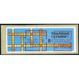 FRANCE (1992). MOG. Stamps...