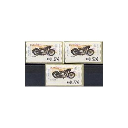 ESPAÑA. 86a. Sanglas 3501 - Corte inv. LF-5E. Serie 3 val