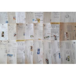 SPAIN - Lot of 25 different...