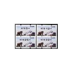 TAIWÁN (2005). Oso Negro (2) - VarioSyST 1. Serie 4 v. (nac.)025