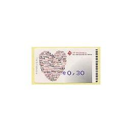 PORTUGAL. 10 Aniv. Familia - Amiel-Azul-Coma. ATM nuevo