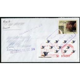 ECUADOR. Logotipo correos...
