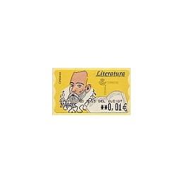 ESPAÑA (2005). CD Anys del Quixot - Literatura. ATM nuevo (0,01)