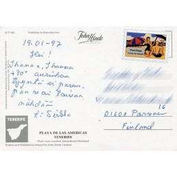 SPAIN (1996). Nordic Mail -...