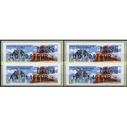 FRANCIA (2020). Salon Philatélique de Printemps - Dole 2020. IER LISA 2. Serie 4 valores