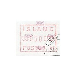 ISLANDIA (1983). Emisión...
