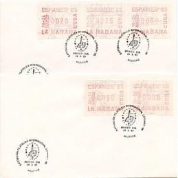 CUBA (1985). ESPAMER 85....