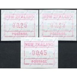 NUEVA ZELANDA (1986). Mapa....