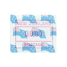 NEW ZEALAND (1988). Flag....