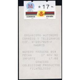 ESPAÑA (1992). 6.1. MADRID...