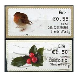 IRLANDA (2013). Navidad 2013. ATMs usados (StandardPost)