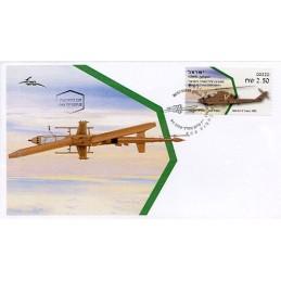 ISRAEL (2020). Israeli Air Force Helicopters (6) - Bell AH-1F Cobra - 00220. Sobre primer día