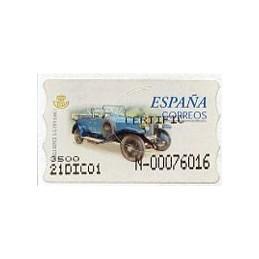 SPAIN (2001). 61S. Rolls...