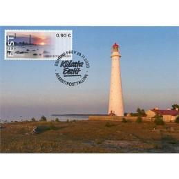 ESTONIA (2020). Visita Estonia (Tallinn, molino y faro) - BNEE20 EE01. Tarjeta máxima (Faro de Tahkuna)