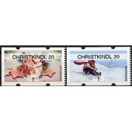 AUSTRIA (2020). Galletas de Navidad y paseo en trineo (Invierno 2020) - CHRISTKINDL 20. ATMs nuevos ( 1)