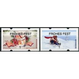 AUSTRIA (2020). Galletas de Navidad y paseo en trineo (Invierno 2020) - FROHES FEST. ATMs nuevos ( 1)