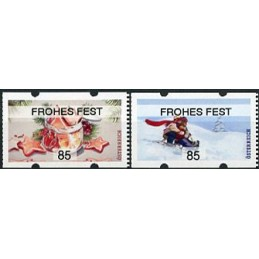 AUSTRIA (2020). Galletas de Navidad y paseo en trineo (Invierno 2020) - FROHES FEST. ATMs nuevos (85)
